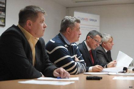 Predsednici V. Hana, Vranja, Bujanovca i Preševa