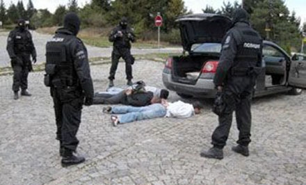 Hapšenje imigranata na jugu Srbije
