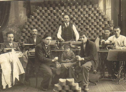 Krojačka radionica u starom Vranju