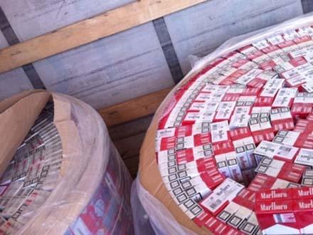 Zaplenjeno 300 boksova cigareta