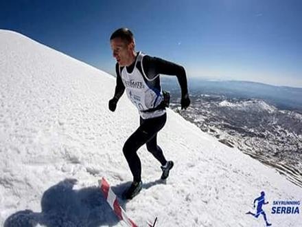 Favorit trke je Kristijan Stošić. Foto: Skyrunning Serbia