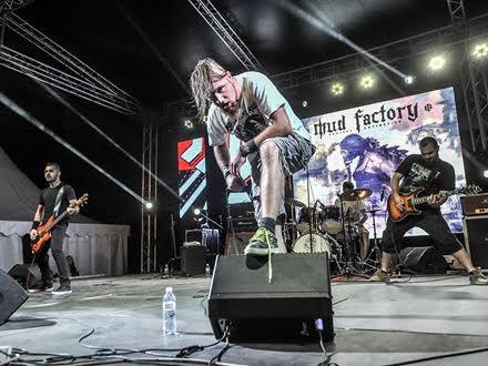 Mud Factory na sceni FOTO FB strana grupe