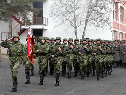 Pripadnici Četvrte brigade VS; Foto: D. Ristić