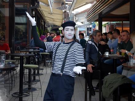 Vranje u znaku pantomime; Foto: P(h)antomfest FB