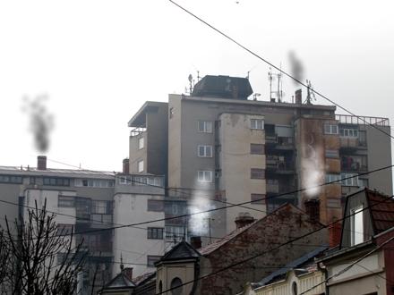 Kotlarnice i dimnjaci složni u zagađenju vazduha; FOTO: D. Ristić/OK Radio