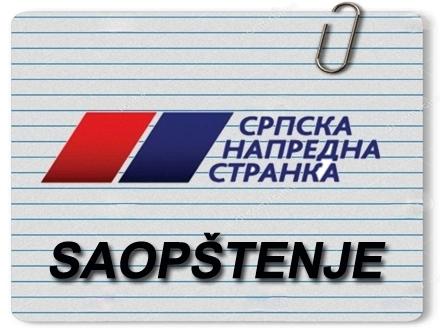 Novo saopštenje SNS-a FOTO OK Radio