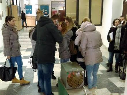 Studenti - studeno FOTO D. Ristić/OK Radio