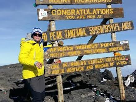 Valentina na Kilimandžaru FOTO privatna arhiva