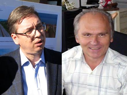 Vučić i Nikolov FOTO OK Radio