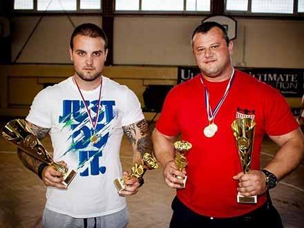 Manasić i Stanković najjači u Srbiji. Foto: FB