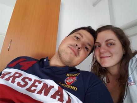 Srećni roditelji Dana i Nikola FOTO: Instagram/Nikola Stojiljković