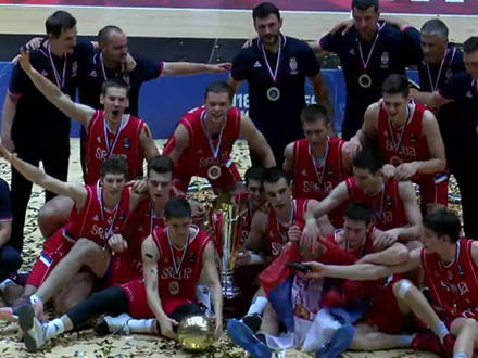Srbija ponovo zemlja košarke. Foto: YTSS/FIBA