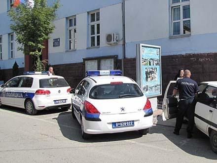 Zgrada policije, zabranjena teritorija FOTO OK Radio