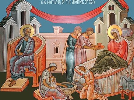Freska Bogorodičinog rođenja. Foto: PrintScreen