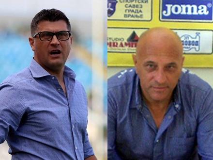Treneri lidera Super lige i Prve lige Srbije, Milojević i Antić FOTO: OK Radio