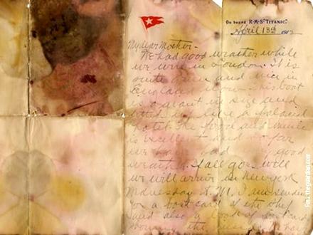 Pismo je oštećeno, ali i dalje može da se vidi šta je Holverson napisao majci
