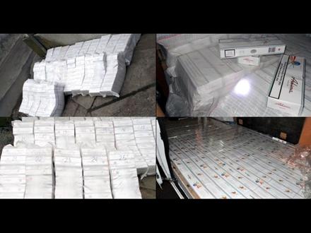 Vrednost zaplenjenih cigareta oko šest miliona dinara FOTO: MUP Srbije