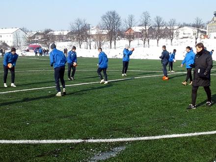 Fudbaleri Radnika prošle zime FOTO: FK Radnik