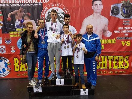 Medalje za Vranjance. Foto: vranje.org.rs