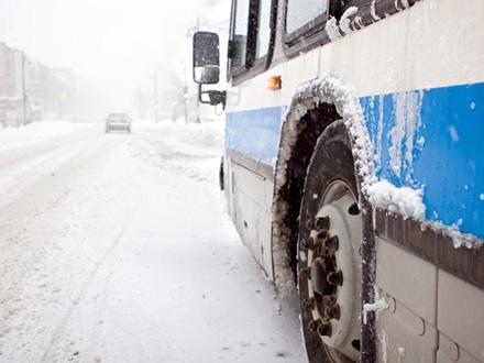 Autobus sleteo zbog klizavog kolovoza FOTO: Thinkstock/ilustracija
