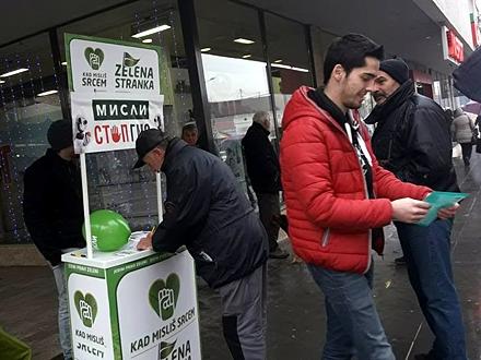 Vranjanci se u velikom broju odazvali akciji FOTO: Facebook/Zelena Stranka - Vranje