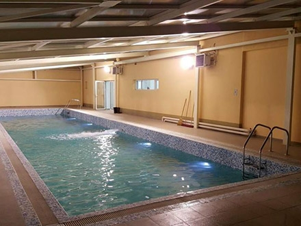 Zatvoreni bazen u Vranjskoj Banji. Foto: FB
