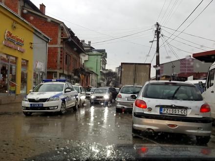 Krkljanac u Karađorđevoj ulici u centru Vranja FOTO: privatna fotografija
