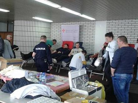 Akcija u Policijskoj upravi Vranje. Foto: PU