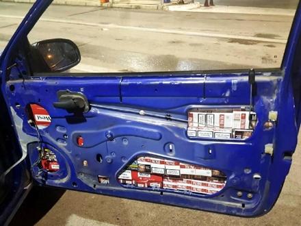 Na osnovu pokazatelja rizika vozilo je detaljno pregledano FOTO: Uprava carina