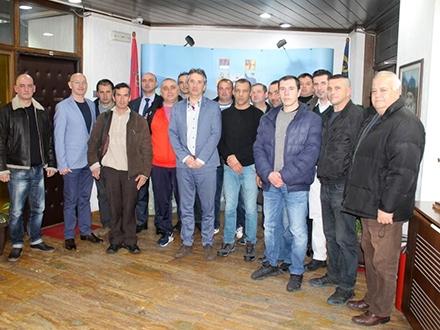 Prijem kod gradonačelnika. Foto: vranje.org.rs