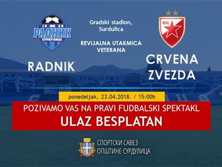Besplatan ulaz za sve fanove fudbala FOTO: Promo