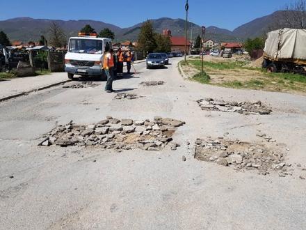 Radovi traju već dve nedelje FOTO: vranje.org.rs