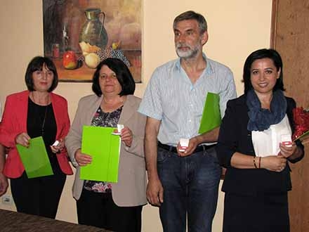 Dobitnici srebrnog znaka u Pčinjskom okrugu. Foto: S.Tasić/OK Radio