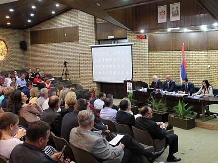 Odbornici na 24. sednici Skupštine. Foto: vranje.org.rs