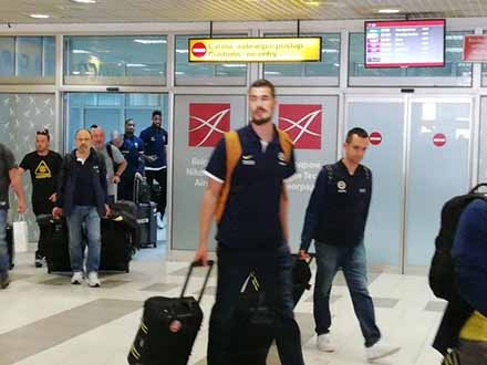 Fenerbakče stigao u Beograd. Foto: B92