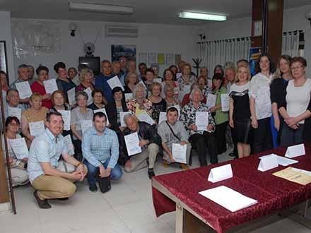 Vranjski penzioneri. Foto: Promo