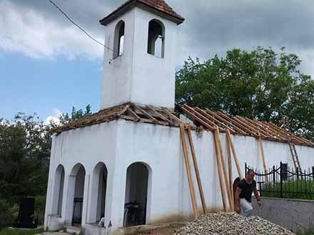 Crkve u Poljanici još iz 19. vekia. Foto: FB