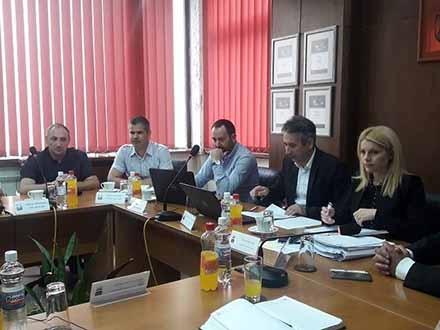 Članovi gradskog Veća. Foto: vranje.org.rs