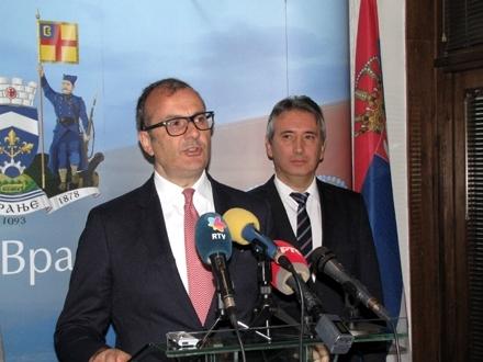 Na skupu će govoriti i šef Delegacije EU u Srbiji Sem Fabrici FOTO: D. Ristić/OK Radio