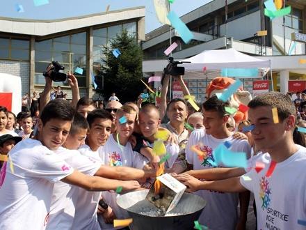 Svečano paljenje baklje FOTO: vranje.org.rs