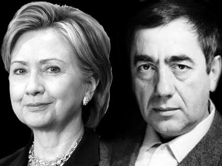 Vasko Popa umesto Hilari Klinton FOTO: OK Radio