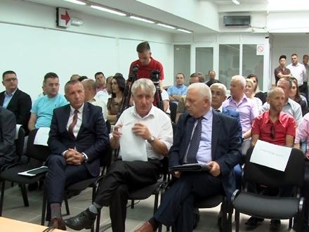 Skupština u Bujanovcu FOTO: D.Ristić/OK Radio