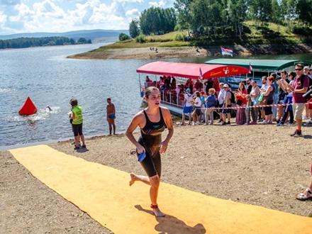 U triatlonu je učestvovalo 108 takmičara FOTO: Šri Činmoj Maraton Tim