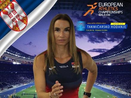 Dušica Topić: Rezultat bolji od očekivanog FOTO: Atletski savez Srbije