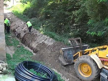 Vodovodna mreža stigla u Balkansku. Fpoto: FB