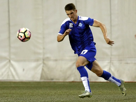 Zlatanović, udarna igla Surduličana FOTO: FK Radnik