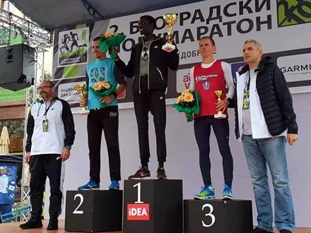 Kristijan potvrdio dobru formu FOTO: AK Vranjski maratonci