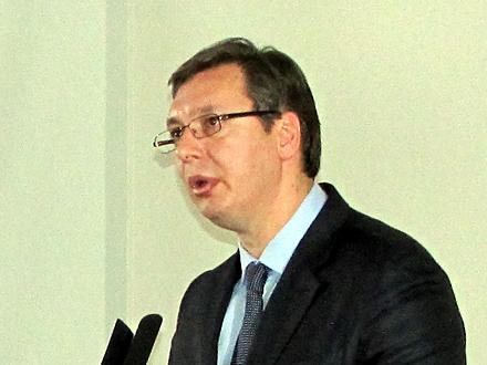 Vučić: Mržnja nikome ne donosi dobro FOTO: D. Ristić/OK Radio