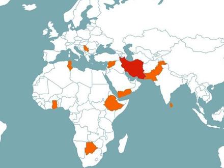 Srbija u društvu Iraka, Irana, Etiopije, Sirije, Pakistana FOTO: FATF