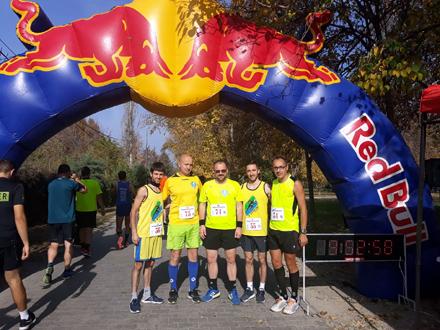 Vranjski maratonci u Velesu FOTO: AK Vranjski maratonci